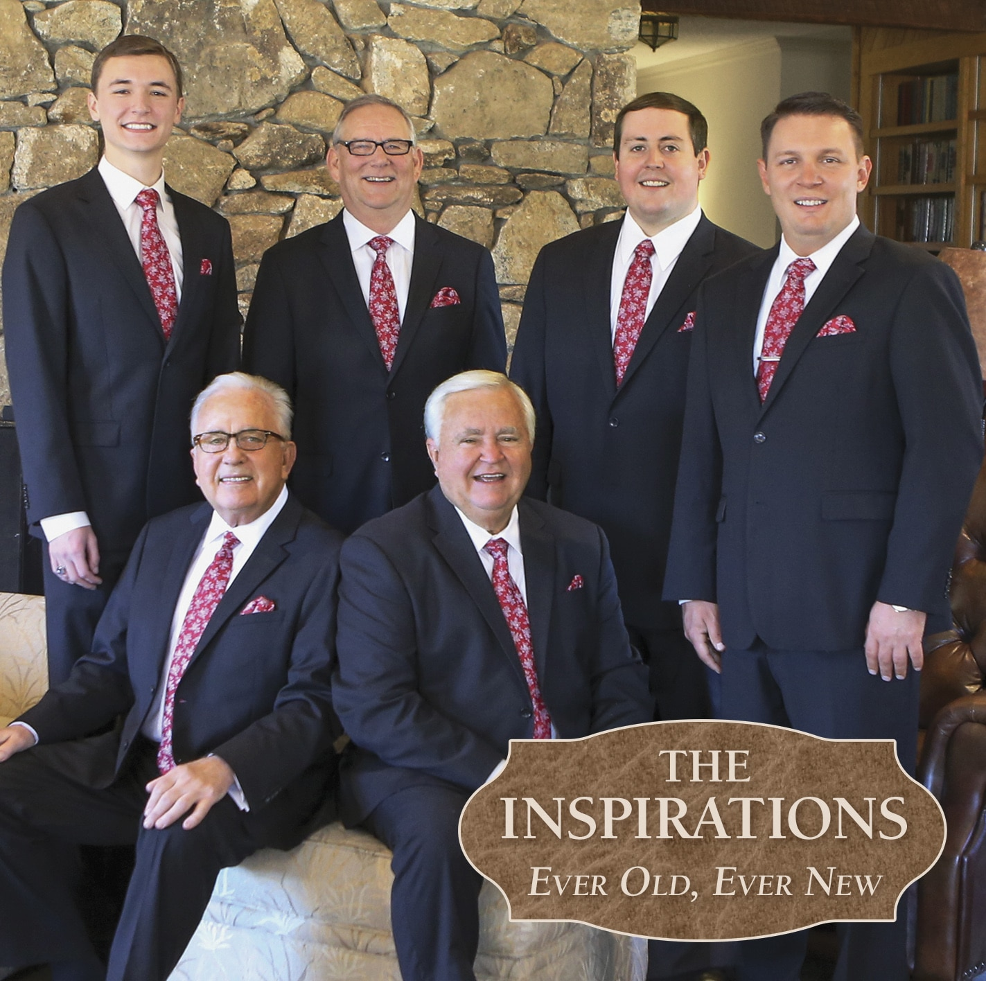 The cover of The Inspirations' album, Ever Old, Ever New
