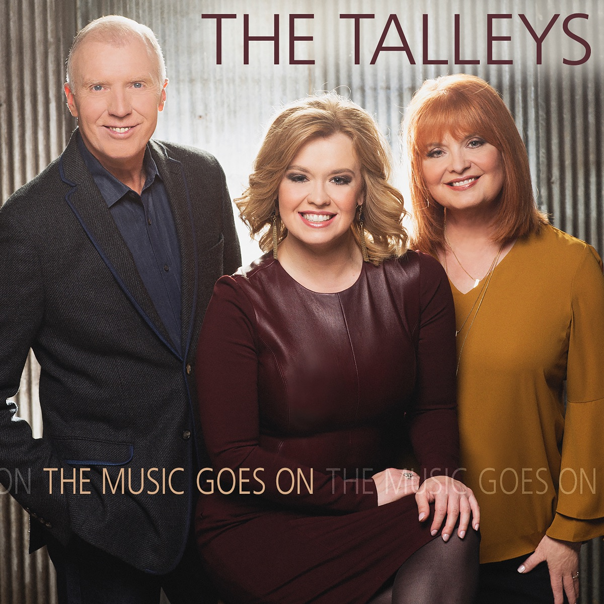 The Cover of The Talleys' The Music Goes On