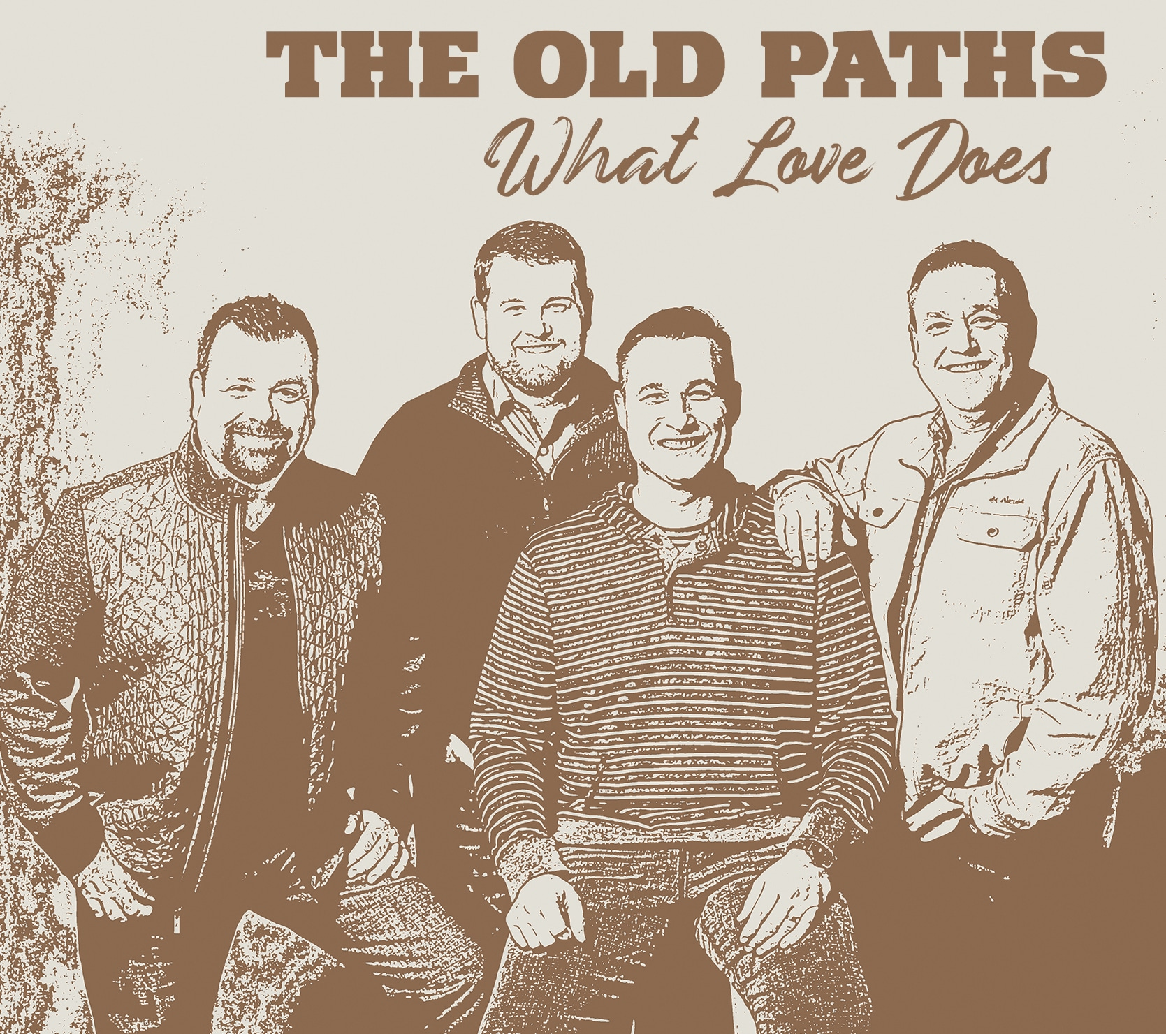 The cover of The Old Paths album What Love Does